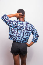 Load image into Gallery viewer, Riyike Cropped Jacket