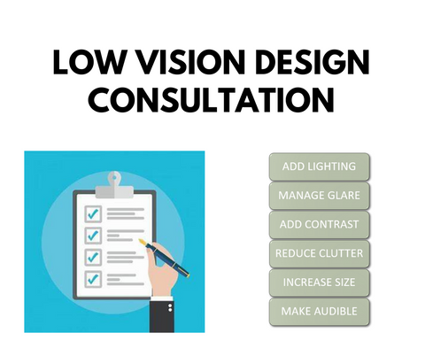 What is Low-Vision Design Consultation?