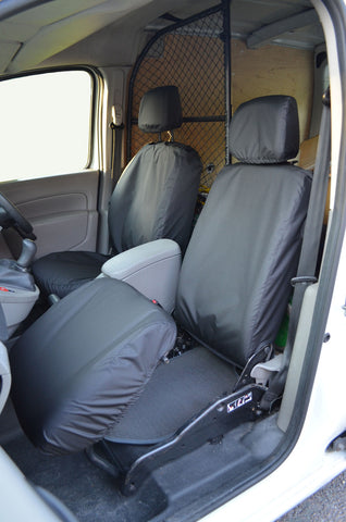 Mercedes Citan Folding Passenger Seat Covers Black