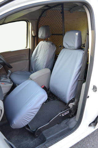 Mercedes Citan Folding Passenger Seat Covers Grey