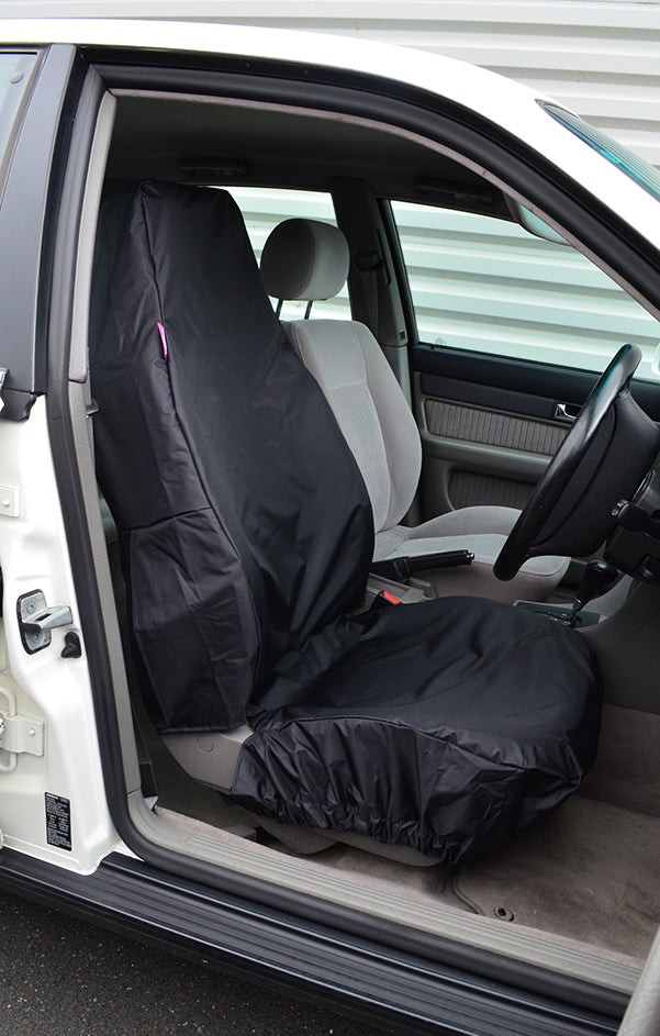 Turtle Covers Universal Utility Waterproof Single Front Seat Cover