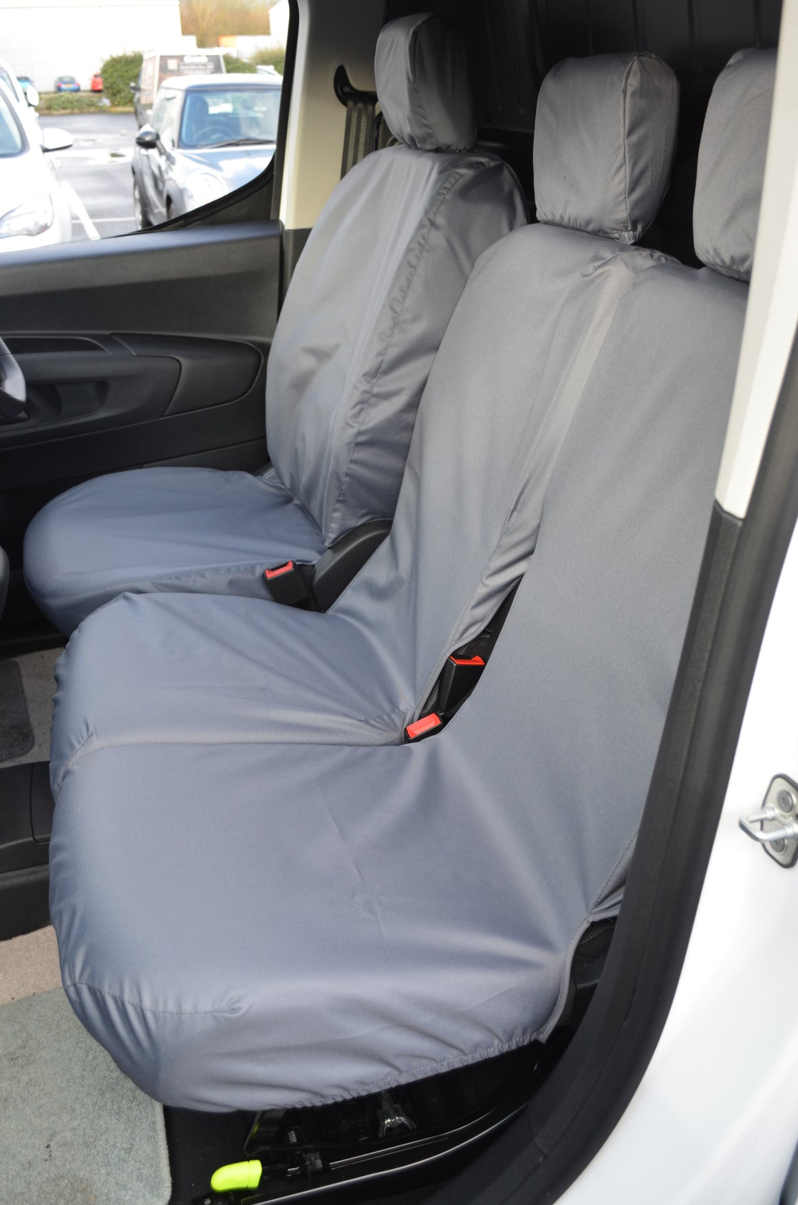 Citroen Berlingo Van 2018+ 3-Seater Front Seat Covers
