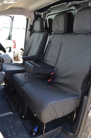 Vauxhall Vivaro 2019+ Seat Covers  Turtle Covers Ltd