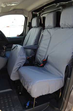 Toyota Proace 2016 Onwards Seat Covers