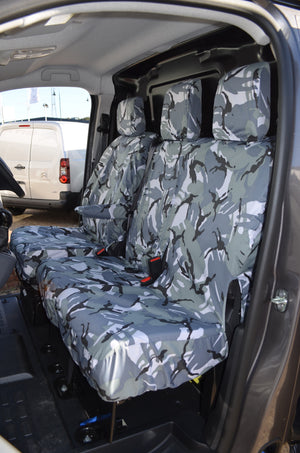 Citroen Dispatch 2016 Onwards Seat Covers  Turtle Covers Ltd