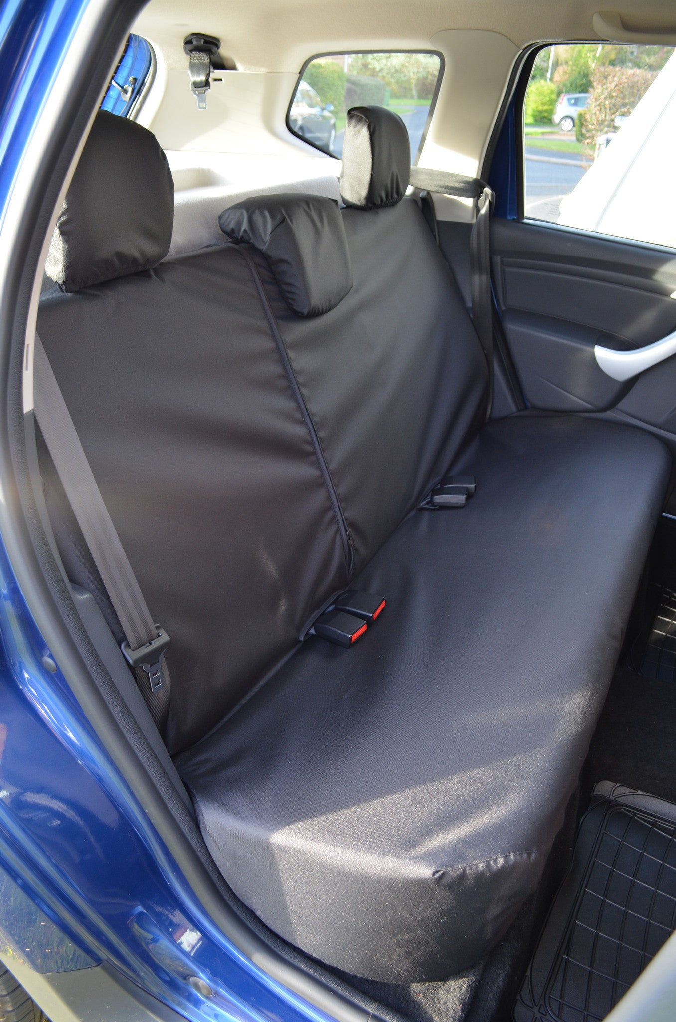Dacia Duster 2013 2018 Tailored Waterproof Front Rear Seat Covers