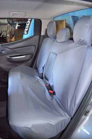 Mitsubishi L200 Series 5 Mark 7 Grey Tailored Rear Seat Cover