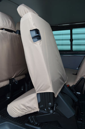 VW Volkswagen Transporter T5 Kombi 2010 - 2015 Rear Seat Covers  Turtle Covers Ltd