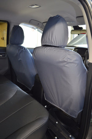 Mitsubishi L200 Series 5 Mark 7 Grey Tailored Front Seat Covers