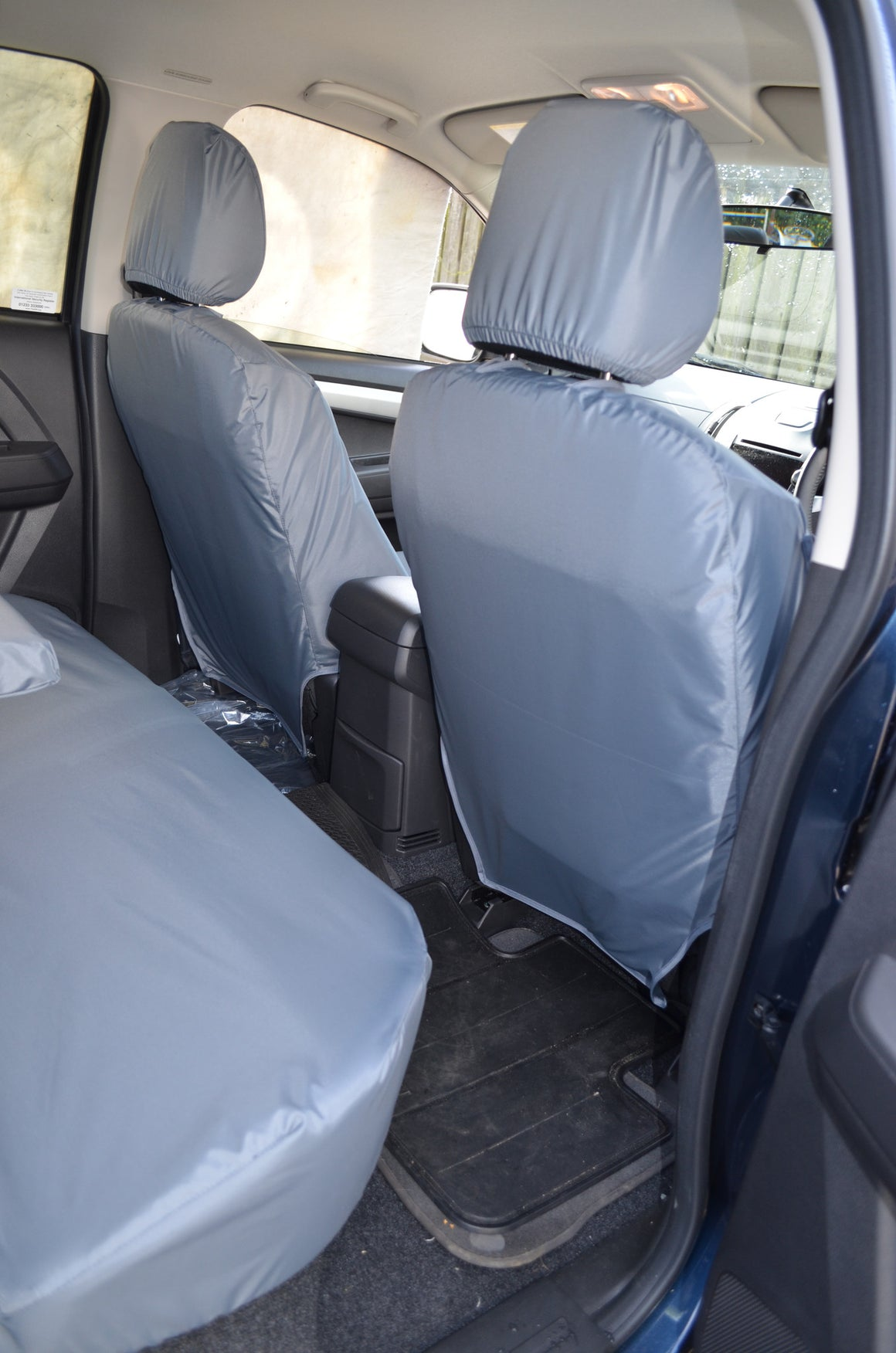 Isuzu D-Max 2012 Onwards Seat Covers  Turtle Covers Ltd