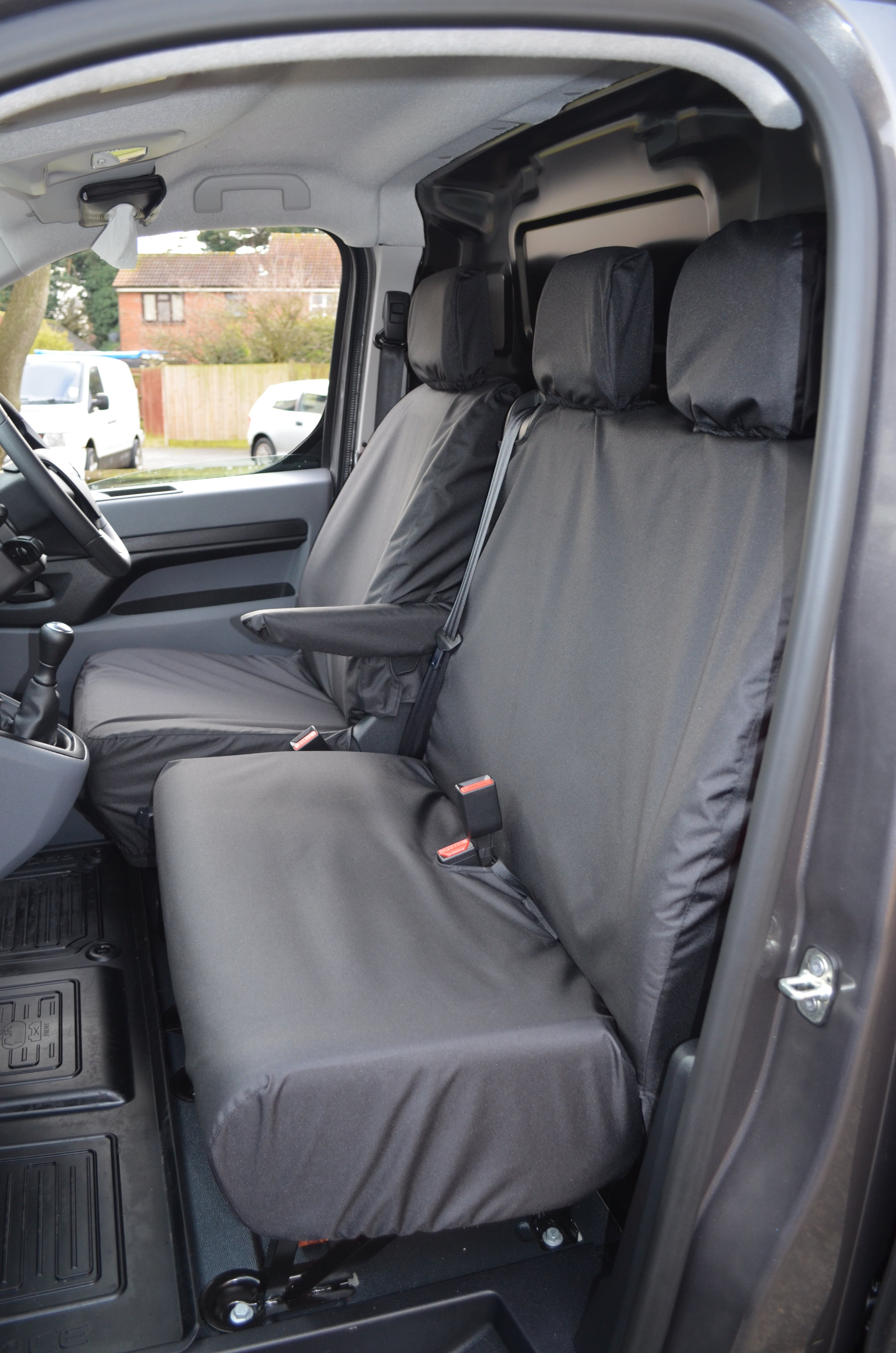 Peugeot Expert 2016+ Tailored and Waterproof Front Seat Covers ...
