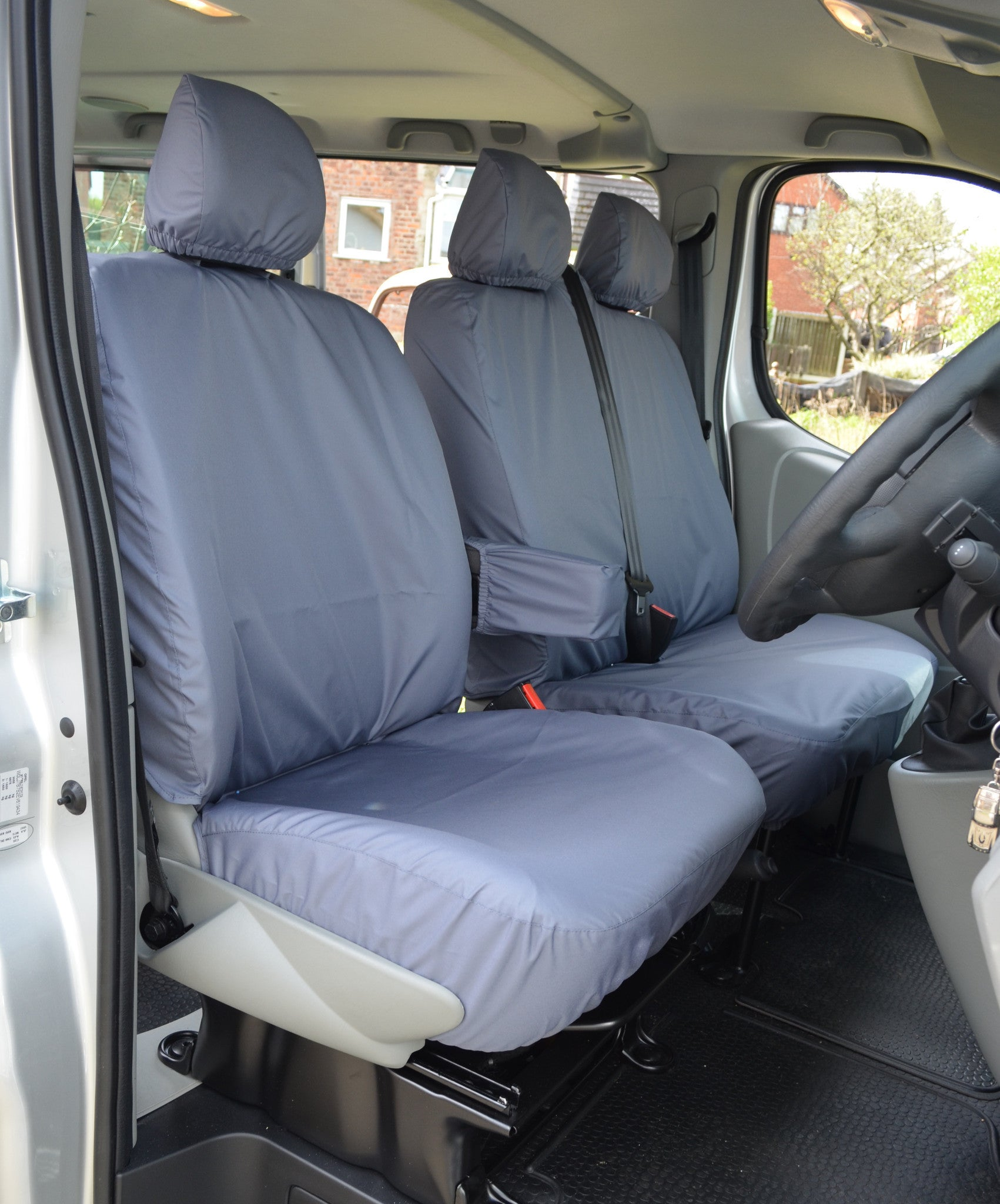 Nissan Primastar 2002 - 2006 Tailored Front Seat Covers