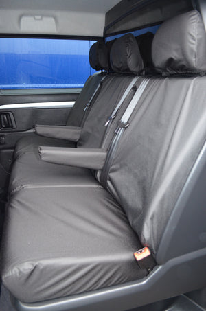 Citroen Dispatch 2016+ Crew Cab Rear Tailored Seat Cover  Turtle Covers Ltd