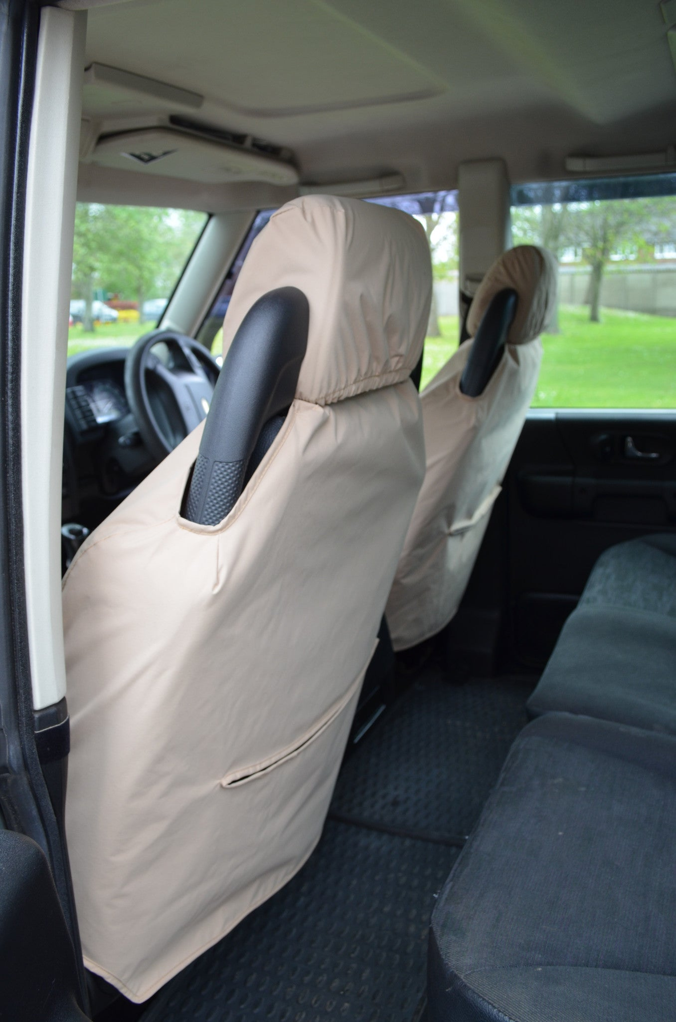 Land Rover Discovery Series 2 Tailored Waterproof Black Full Set 7 Seat Covers