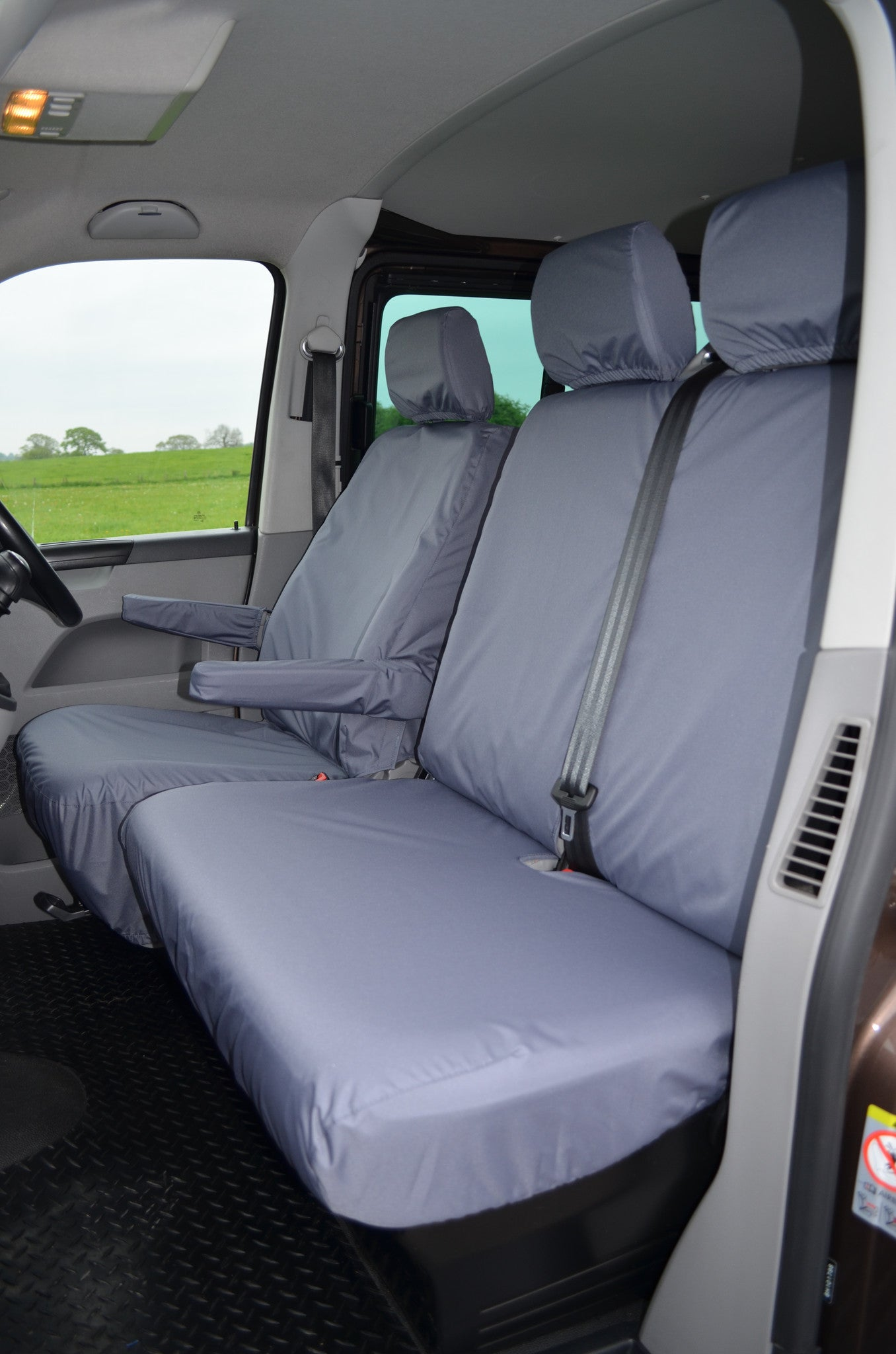 Vw Volkswagen Transporter T5 2010 2015 Front Seat Covers