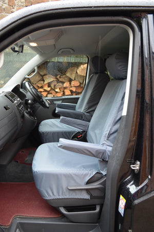 VW Volkswagen T6 Caravelle 2015+ Tailored Seat Covers