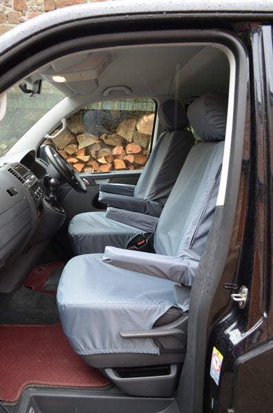 VW Volkswagen T5 Caravelle 2003 Onwards Tailored Seat Covers