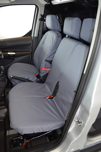 Ford Transit Connect Van 2014 Onwards 3-Seater Front Seat Covers