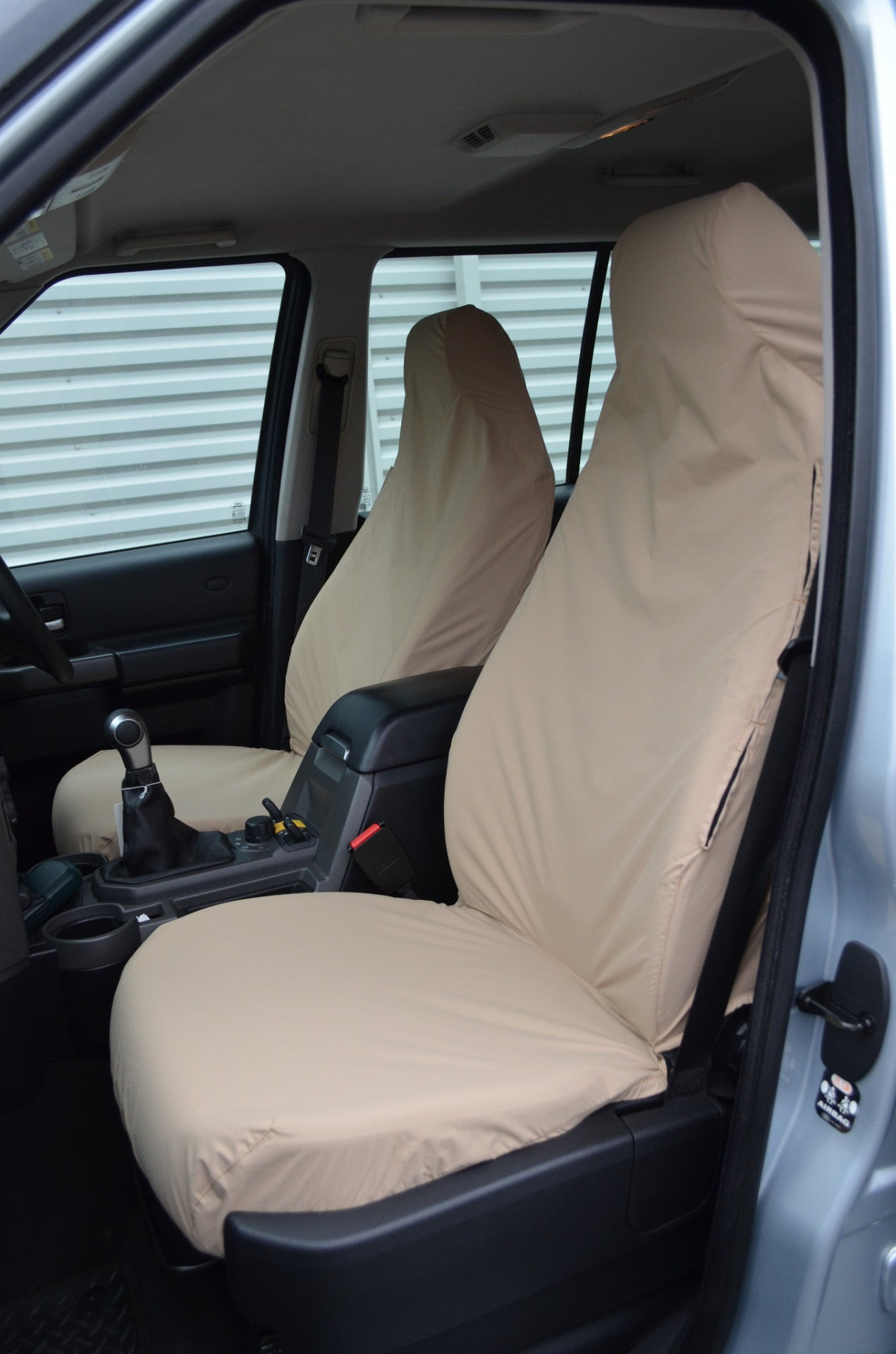 Land Rover Discovery Series 2 Tailored Waterproof Beige Full Set 7 Seat Covers