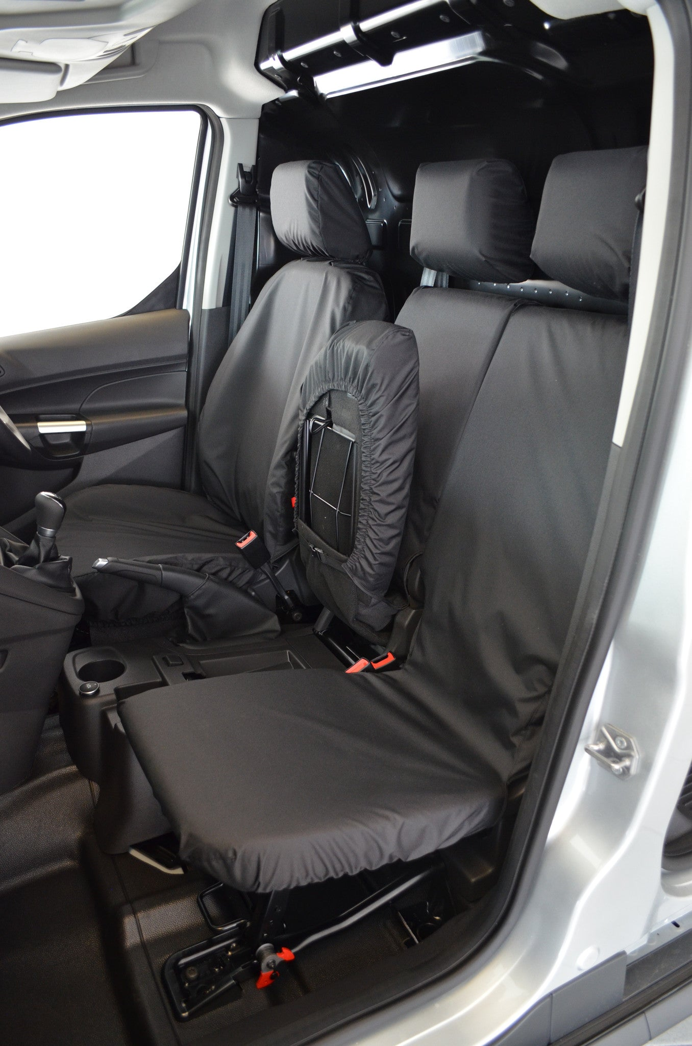 Ford transit connect van 2014 onwards 3 seater front seat covers