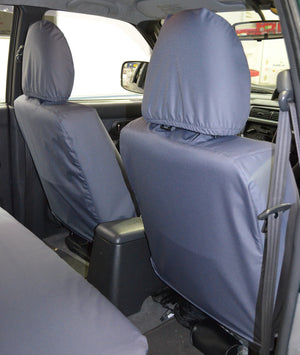 Mitsubishi L200 Double Cab (1998 to 2006) Tailored Seat Covers  Turtle Covers Ltd