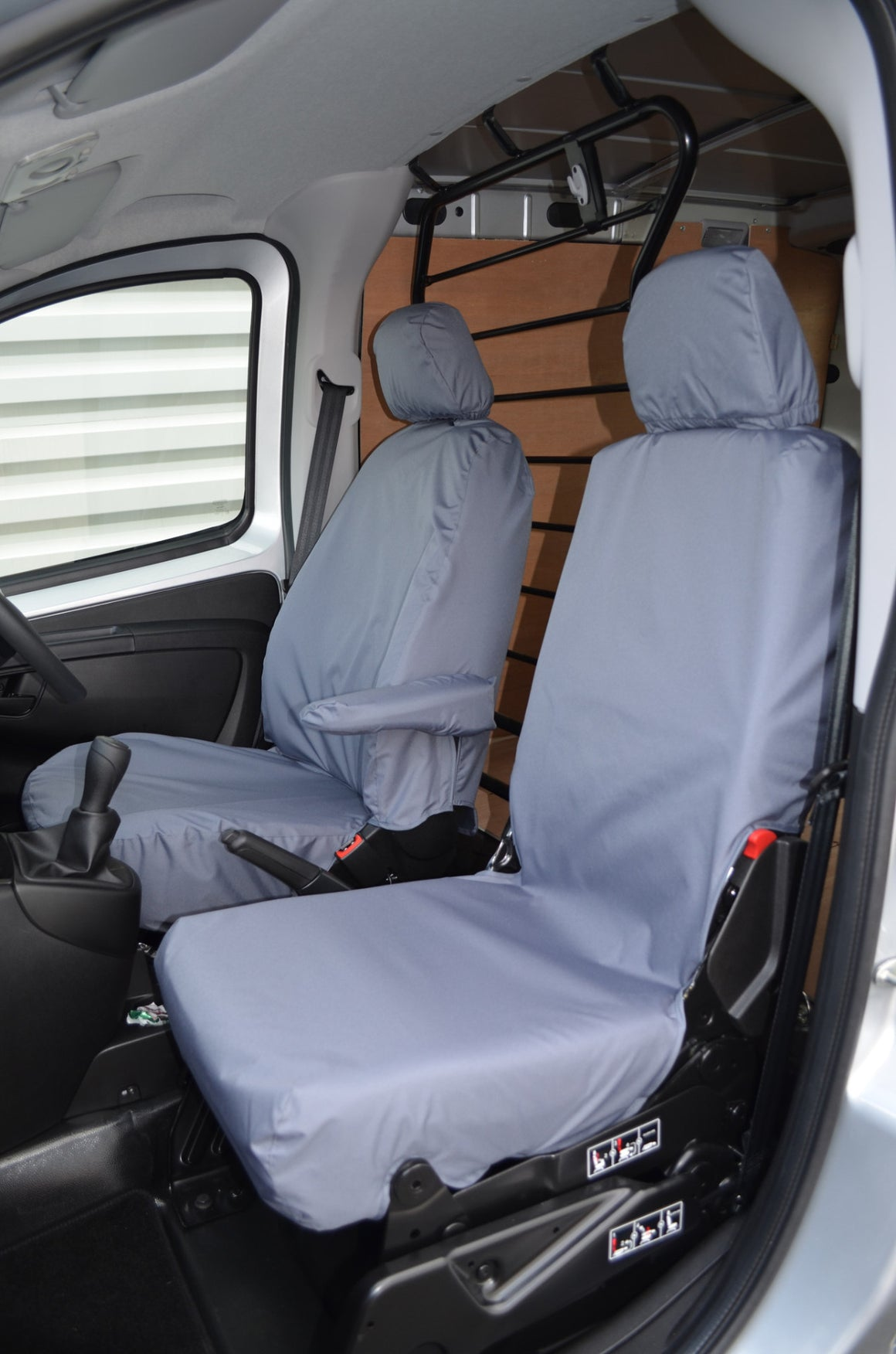 Fiat Fiorino Van 2008 Onwards Front Pair of Seat Covers