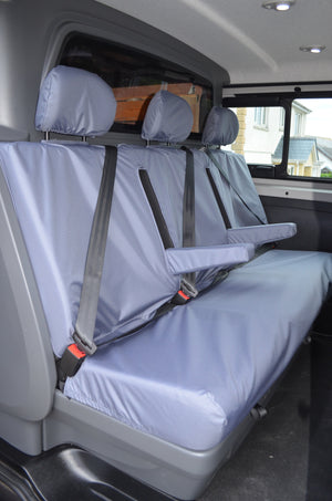 Renault Trafic Sport and Business+ Crew Van 2014+ Tailored Rear Seat Covers