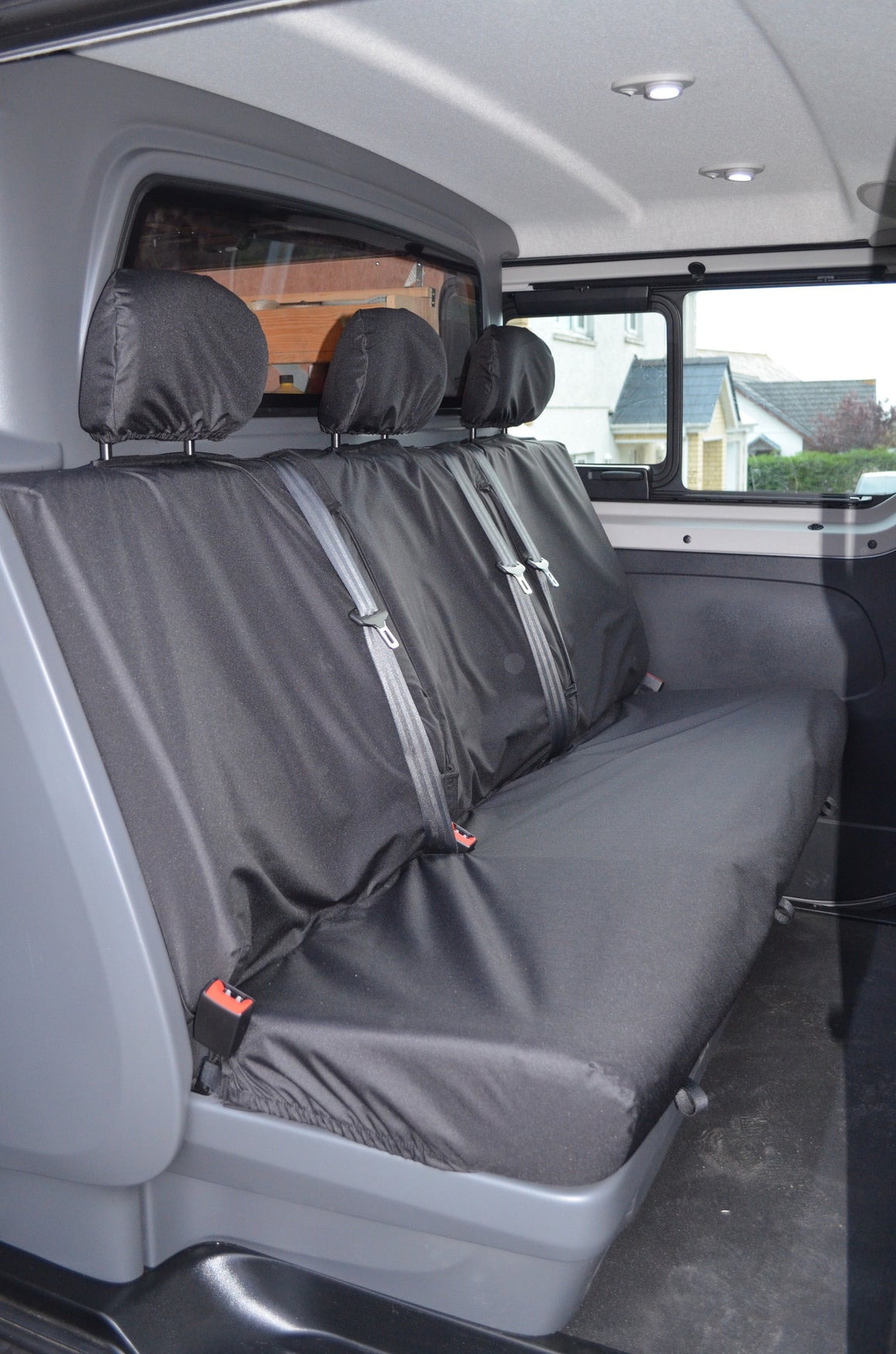 Fiat Talento Crew Cab 2016 Onwards Rear Seat Covers