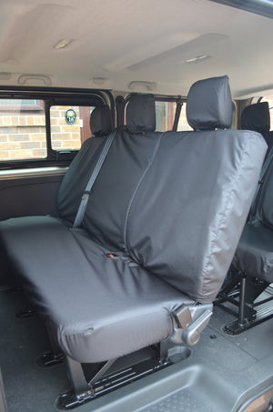 Nissan NV300 2016+ 9-Seater Minibus Seat Covers  Turtle Covers Ltd