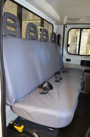 Citroen Relay Van 2006 Onwards Tailored Seat Covers Rear / Grey Turtle Covers Ltd