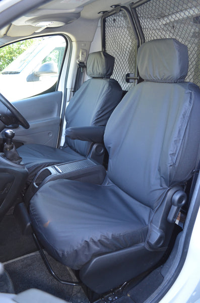 Peugeot Partner Van 2008 Onwards Front Pair Seat Covers