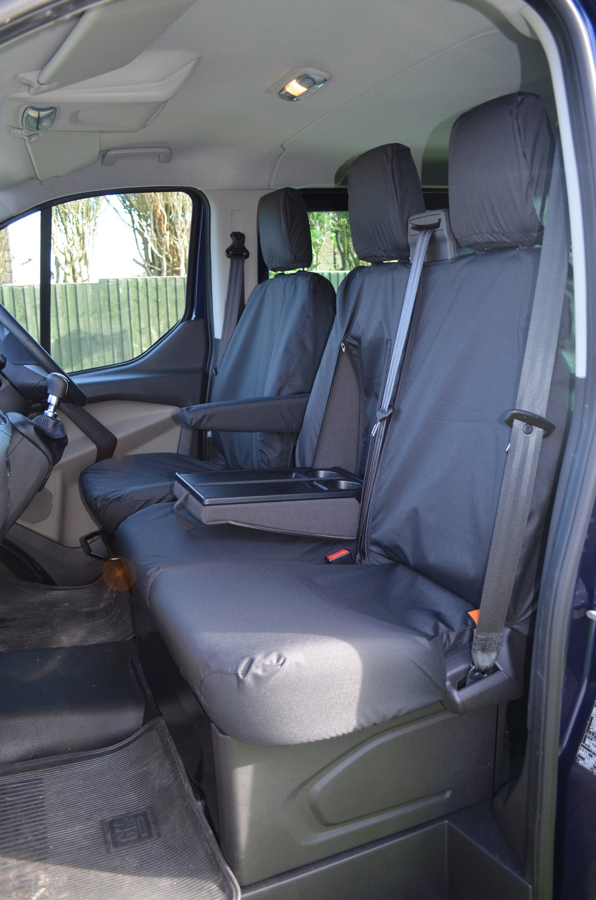Ford Transit Custom 2013 Onwards Tailored Front Seat Covers  Turtle Covers Ltd