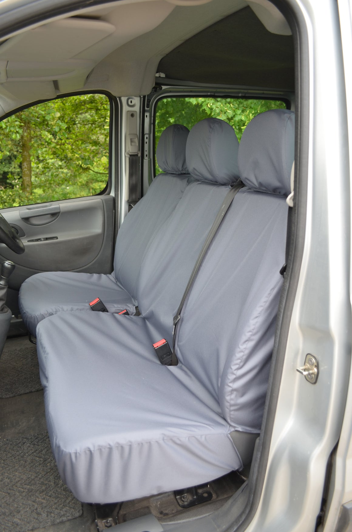 Toyota Proace 2013 - 2016 Tailored Front Seat Covers Black Turtle Covers Ltd