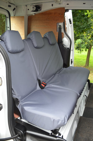 Citroen Berlingo Van 2008 - 2018 Rear Single & Double Seat Covers