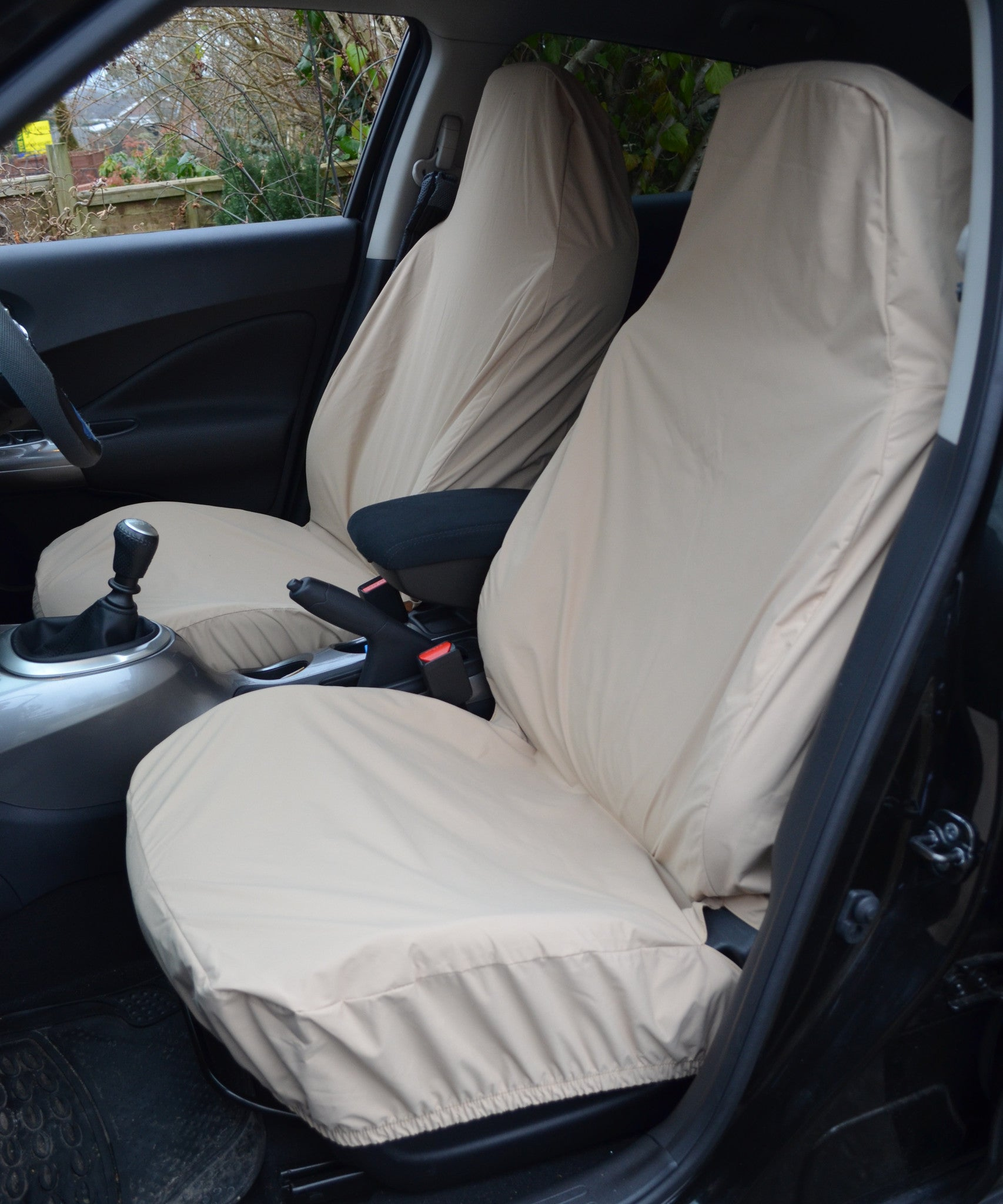 Front Pair Of Airbag Compatible Car Van Seat Covers