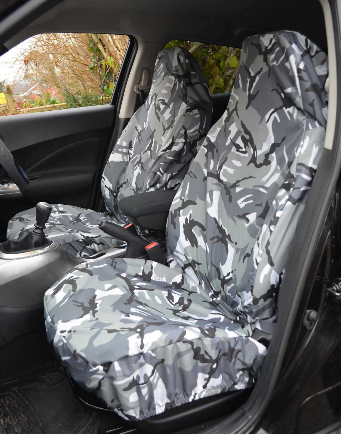Front Pair of Airbag Compatible Car & Van Seat Covers