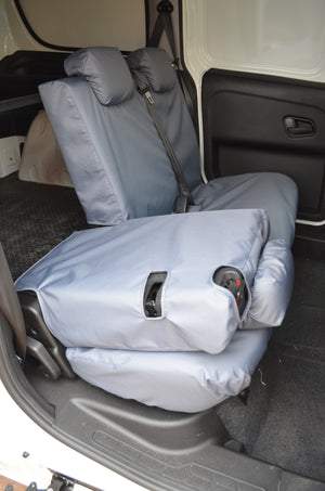 Fiat Doblo Van 2010+ Tailored Seat Covers  Turtle Covers Ltd