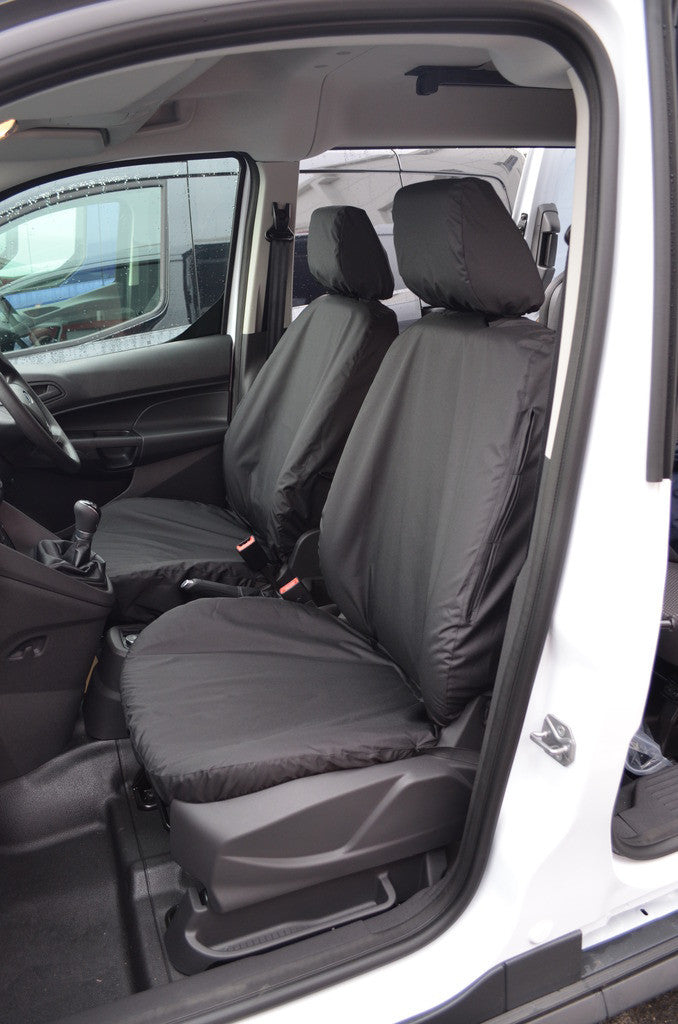 Tailored Fabric Seat Covers For FORD TRANSIT CUSTOM 2+1 2012 onward