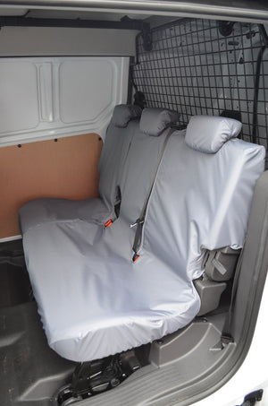 Ford Transit Connect 2018+ Tailored Seat Covers Rear Seats / Grey Turtle Covers Ltd