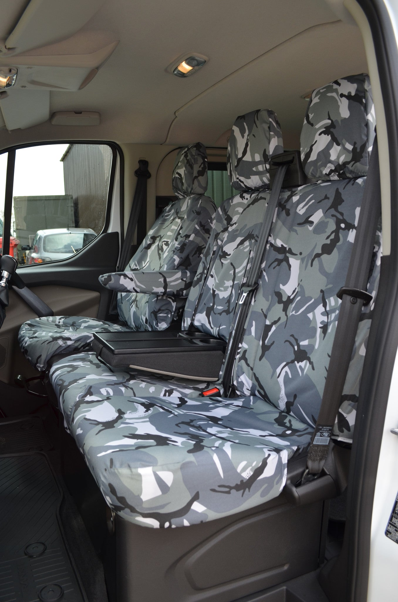 Ford Transit Custom 2013 Waterproof Tailored Front Seat