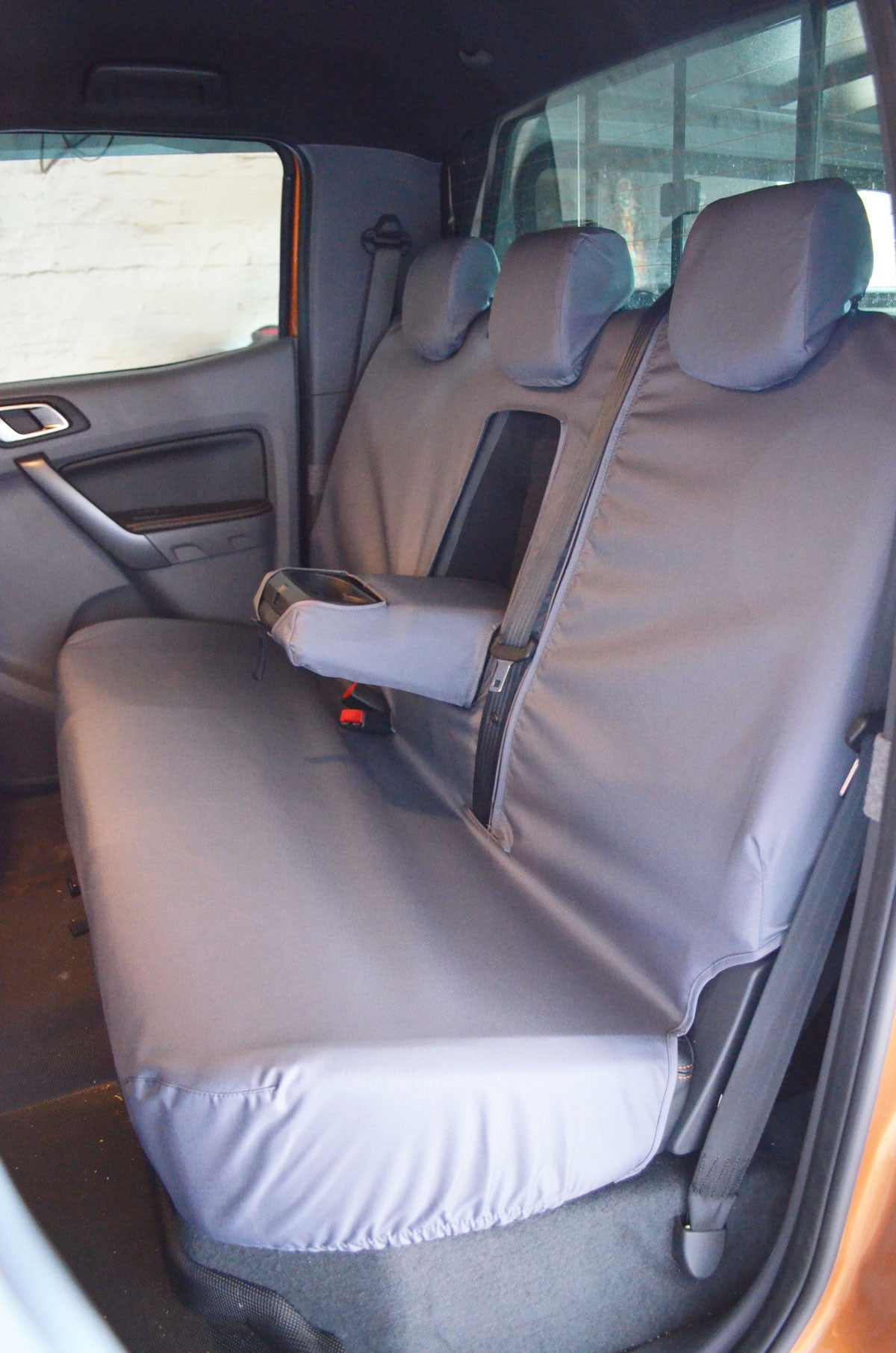 Ford Ranger 2012 Tailored Waterproof Front And Rear Seat