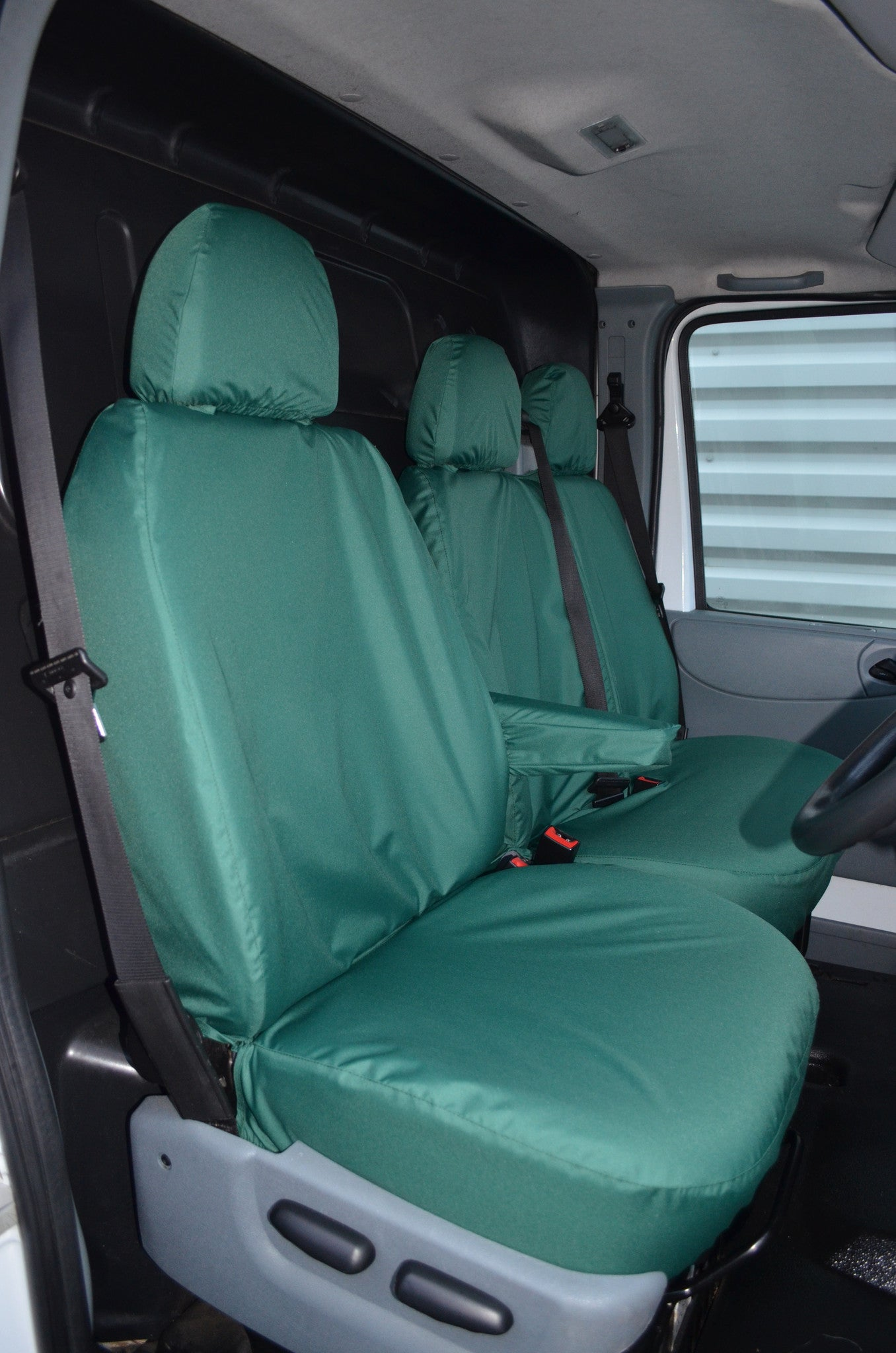 Ford transit van 2000 2013 tailored front seat covers