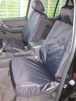 Nissan Navara Double Cab (2005 to 2016) Tailored Seat Covers