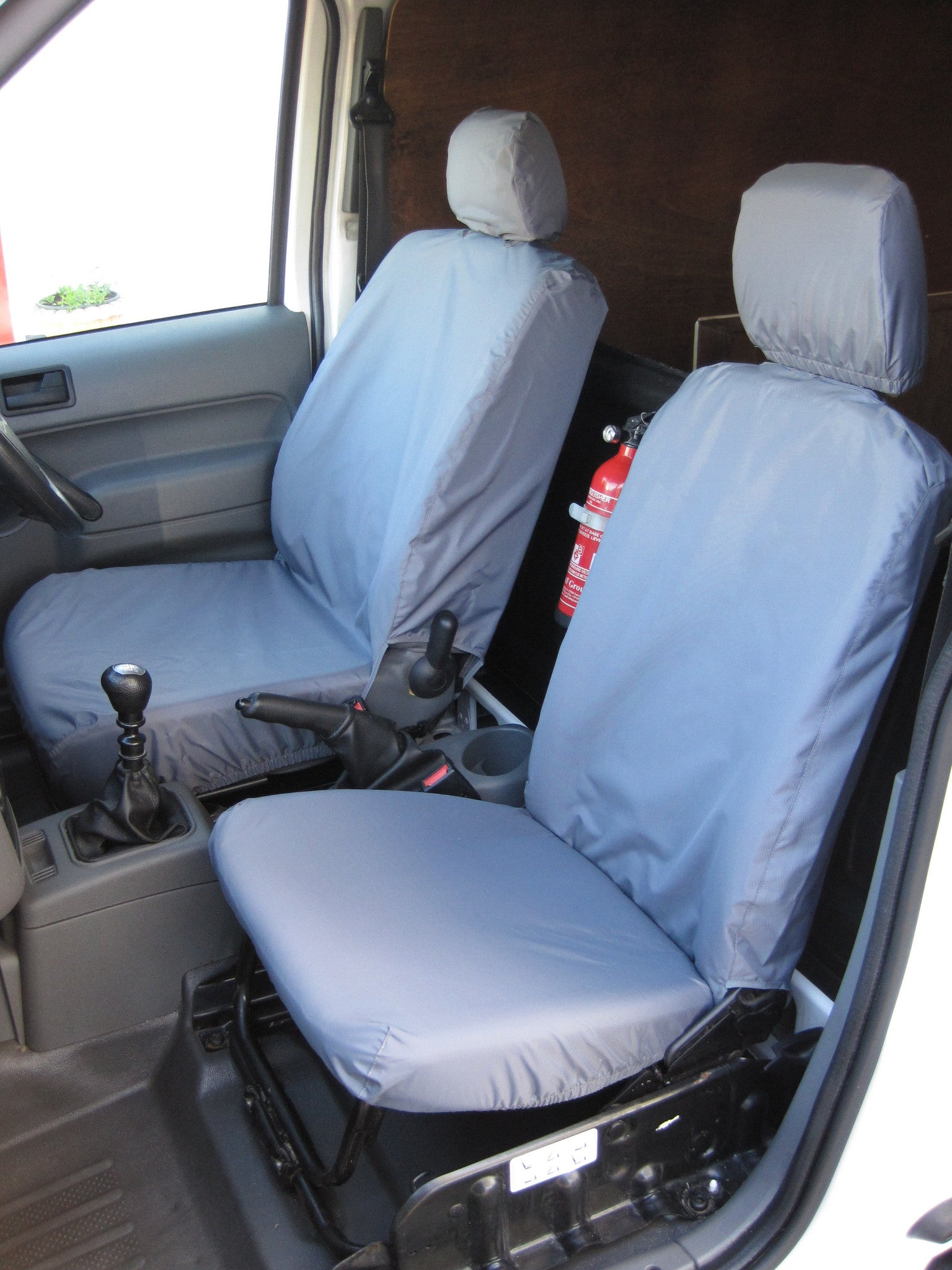 Ford transit connect 2002 2014 front seat covers