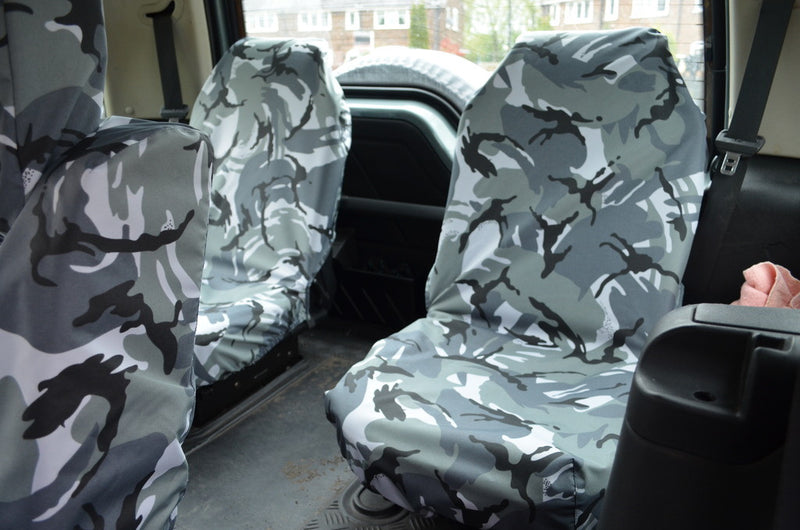 research.unir.net Grey CAMO FRONT CAR SEAT COVERS X2 For Land ...