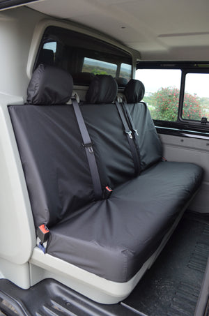 Nissan Primastar Crew Cab 2006 - 2014 Rear Seat Covers