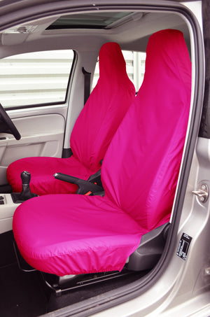 SEAT Mii 2012 Onwards Tailored Front Seat Covers Pink Turtle Covers Ltd