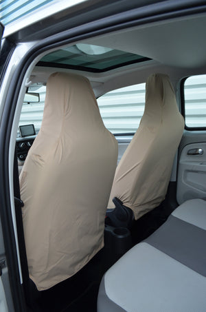 SEAT Mii 2012 Onwards Tailored Front Seat Covers  Turtle Covers Ltd
