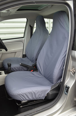 SEAT Mii 2012 Onwards Tailored Front Seat Covers Grey Turtle Covers Ltd