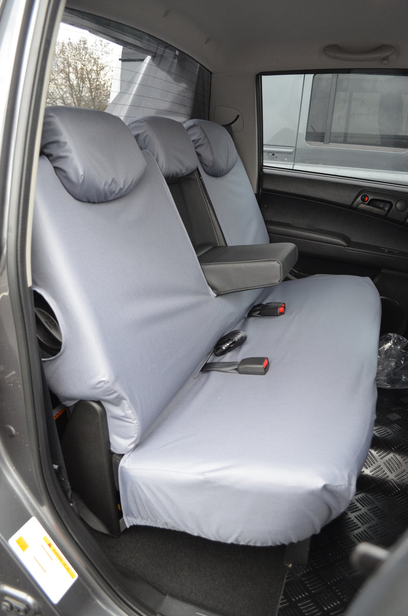 SsangYong Korando Sports/Musso 2012 Onwards Tailored Seat Covers  Turtle Covers Ltd